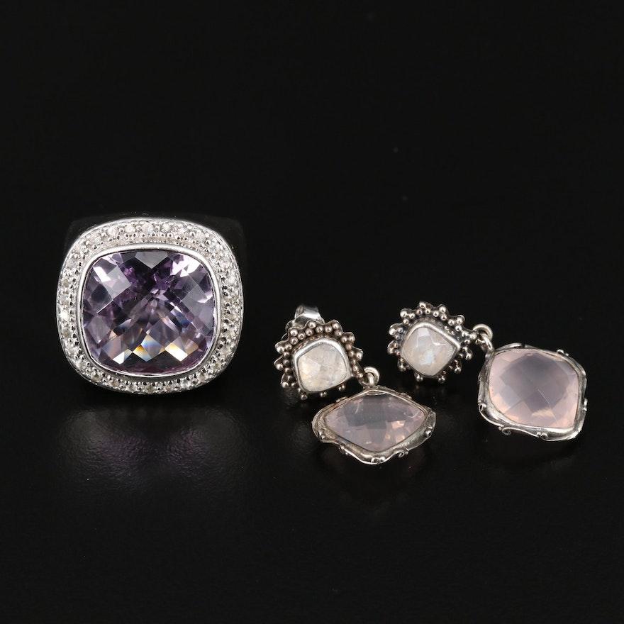 Sterling Jewelry Featuring Lori Bonn Earrings