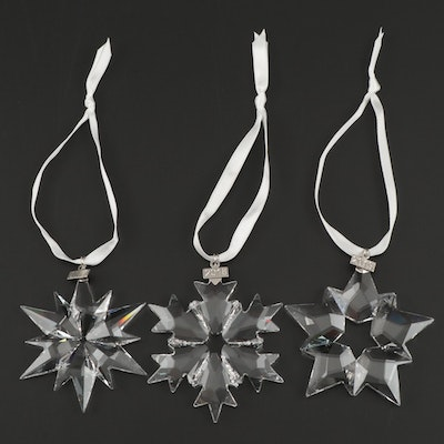 Swarovski Crystal Annual Christmas Ornaments, 2000s