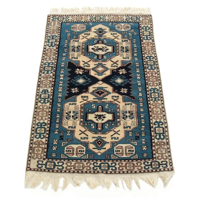 3'3 x 6'6  x Hand-Knotted Turkish Village Rug