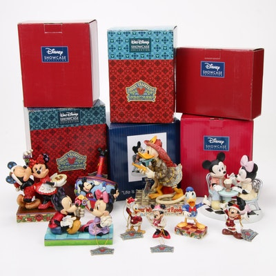 Jim Shore and Other Walt Disney Showcase Collection Figurines