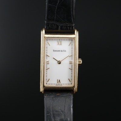 Tiffany & Co. 18K Yellow Gold Quartz Wristwatch