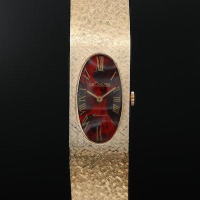 14K Gold LeCoultre Automatic Wristwatch