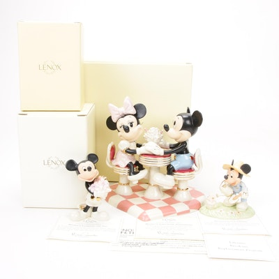 Lenox Walt Disney Showcase Collection Porcelain Figurines
