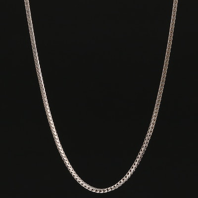 14K Box Chain Necklace