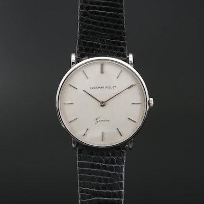 """Audemars Piguet """"Ultra-Thin"""" 18K Gold Stem Wind Wristwatch, Circa 1965"""