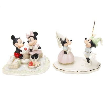 "Lenox ""Recipe For Romance"" and Other Walt Disney Showcase Collection Figurines"