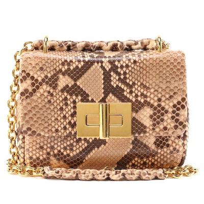 Tom Ford Natalia Python Chain Medium Bag
