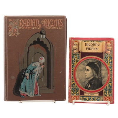 """Walter Paget Illustrated """"The Arabian Nights"""" with """"Ricordo di Firenze"""""""