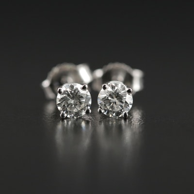 14K Gold 0.44 CTW Diamond Stud Earrings