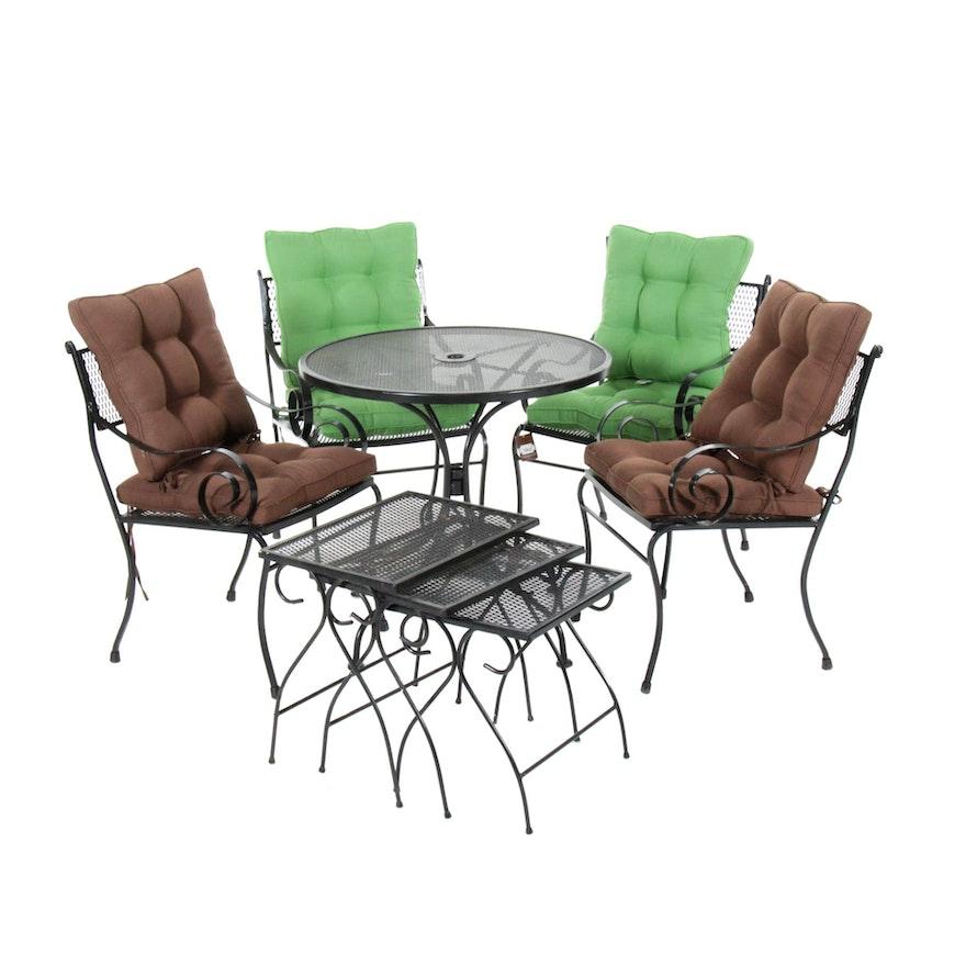 Metal Patio Furniture, Late 20th Century