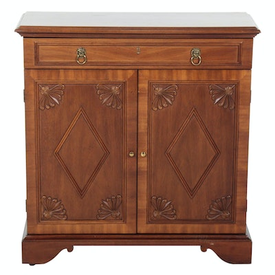 Sherrill Mahogany Cabinet, Mid to Late 20th Century