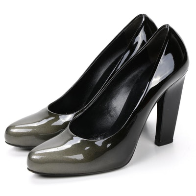 Prada Pumps in Gradient Ombré Patent Leather