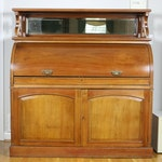 Victorian Cylinder Desk, Late 19th Century