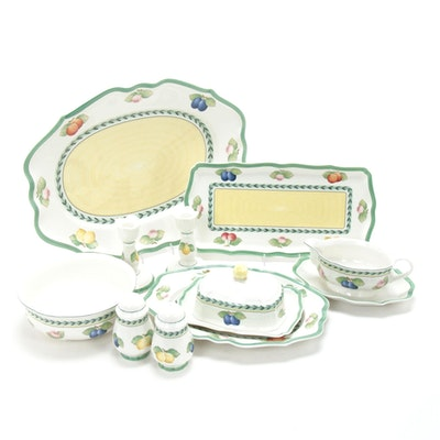 "Villeroy & Boch ""French Garden Fleurence"" Porcelain Serveware"