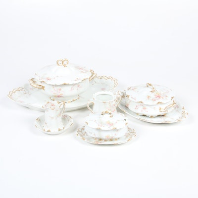 Haviland Limoges Porcelain Serveware and Table Accessories, 1894-1931