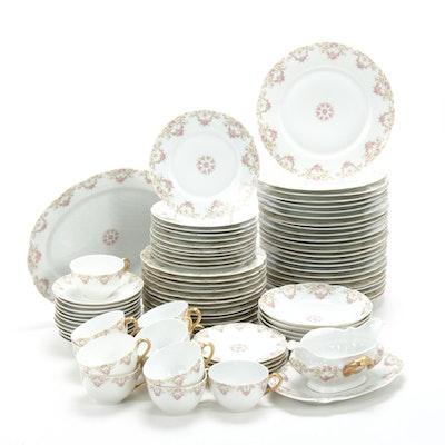 Tressemanes & Vogt Limoges France Porcelain Dinnerware, 1894-1931