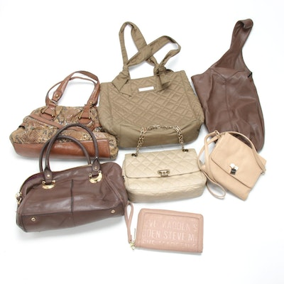Calvin Klein, B. Makowsky, Steve Madden and Other Handbags