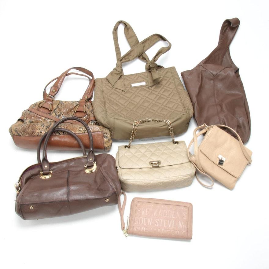 Calvin Klein, B. Makowsky, Steve Madden and Other Handbags