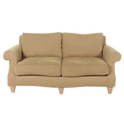 Bernhardt Contemporary Upholstered Loveseat, 21st Century