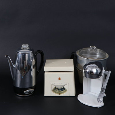 Kitchenware Collection Including Detecto Scale, Juice-O-Mat Juicer and More