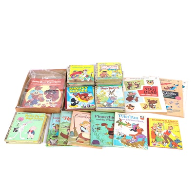 Disney and Hanna-Barbera Little Golden Books and Other Children's Books
