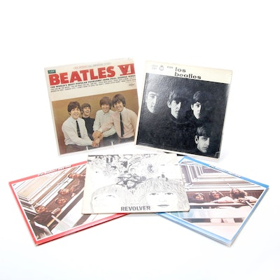 The Beatles Spanish LPs Including Con Los Beatles, Revolver and More