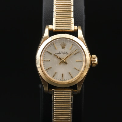 14K Rolex Oyster Perpetual Automatic Wristwatch