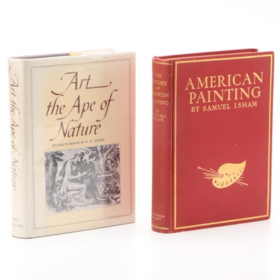 "First Editions ""Art the Ape of Nature"" and ""The History of American Painting"""