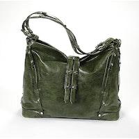 Charriol Large Madrid Olive Green Bag