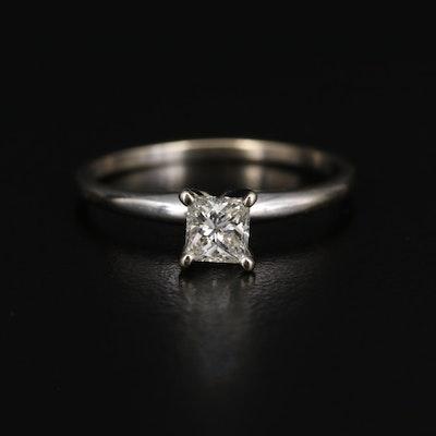 14K 0.39 CT Diamond Solitaire Ring