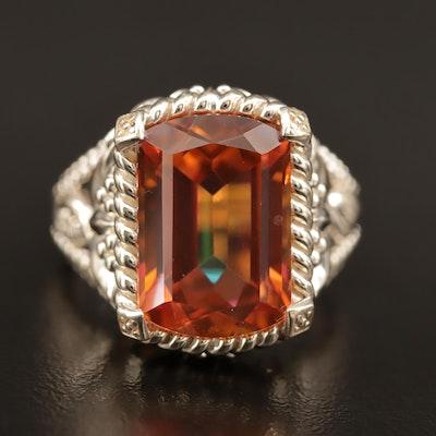 Sterling Quartz Ring