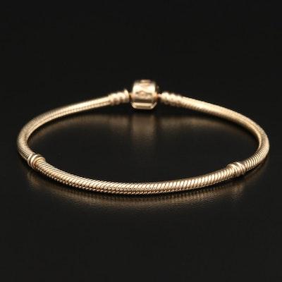 Pandora 14K Snake Chain Bracelet