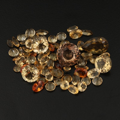 Loose 45.07 CTW Citrine Assortment
