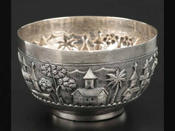 Antiques, Sterling Silver & Rookwood Pottery