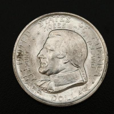 1936 Cleveland Centennial Commemorative Silver Half Dollar