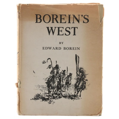 "Edward Borein Memorial Edition ""Ed Borein's West"" Edited by Edward S. Spaulding"