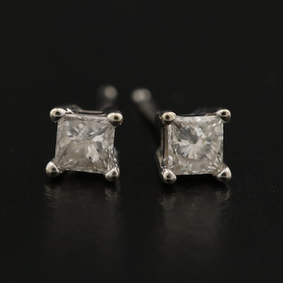 14K 0.32 CTW Diamond Stud Earrings