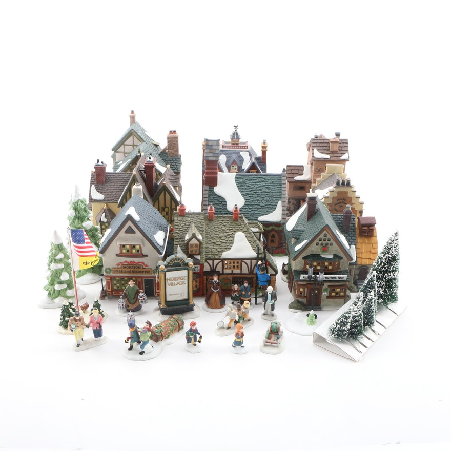 Department 56 Heritage Village Collection Porcelain Christmas Ornaments Decor