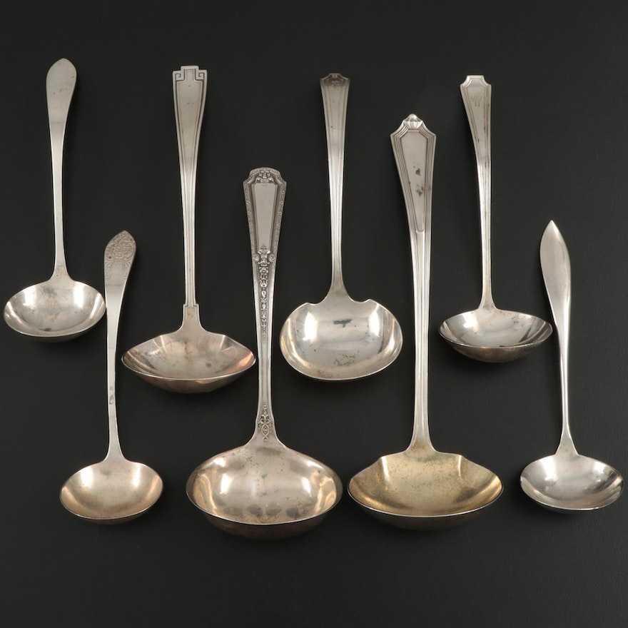 Gorham, Towle and Other American Sterling Silver Ladles