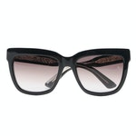 ETRO ET603S Black Suns Modified Cat Eye Sunglasses with Case and Box