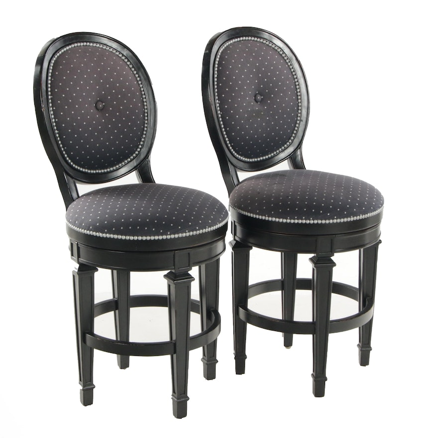 Hillsdale Furniture Upholstered Counter Height Swivel Side Chairs