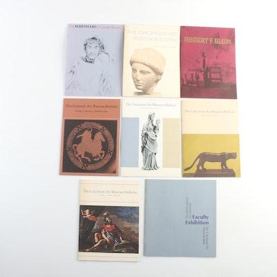 The Cincinnati Art Museum Bulletins, 1960s-1970s