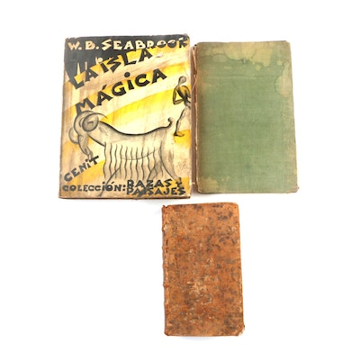 "History, Medical, and Travel Books Including ""La isla mágica"" by W. B. Seabrook"