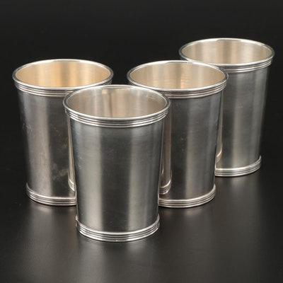 International Silver Sterling Mint Julep Cups, Mid to Late 20th Century