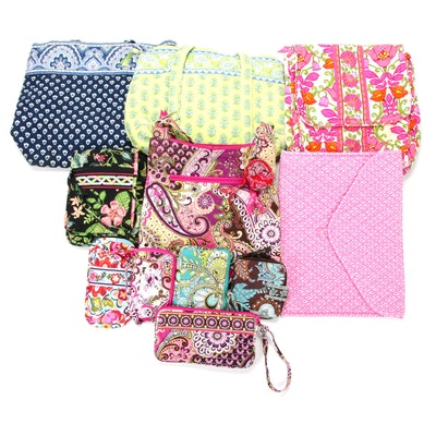 Vera Bradley Quilted Textile Handbags in Various Patterns