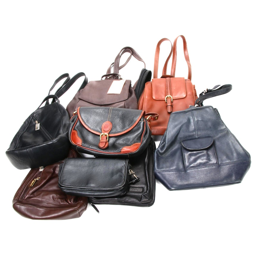 Tignanello, Timberland and Other Leather Backpacks and Shoulder Bags