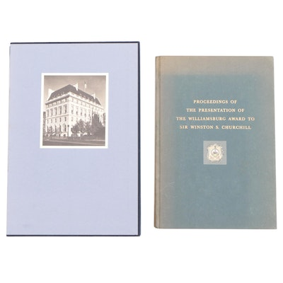 "Limited Edition ""Union Club"" with ""Presentation of Award to Churchill"""