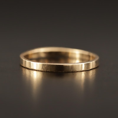 Art Carved 14K Band