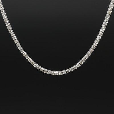 14K 4.27 CTW Diamond Necklace