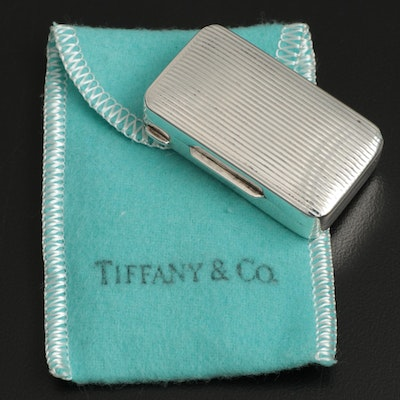 Tiffany & Co. Italian Sterling Silver Pill Box